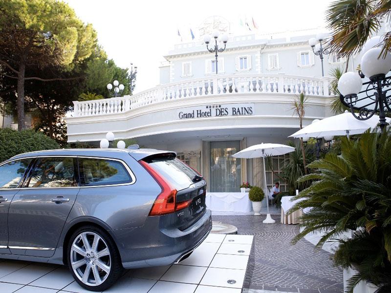 Volvo v90 e s 90 test drive riccione