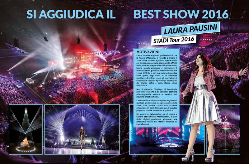 best show 2016 laura pausini organizzazione eventi musicali free event