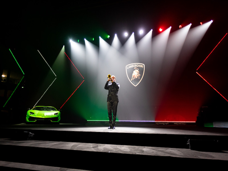 Lamborghini Year Celebration - FREE EVENT Andrea Camporesi?Creative Director and Executive Producer of Large-Scale Events 2 copia