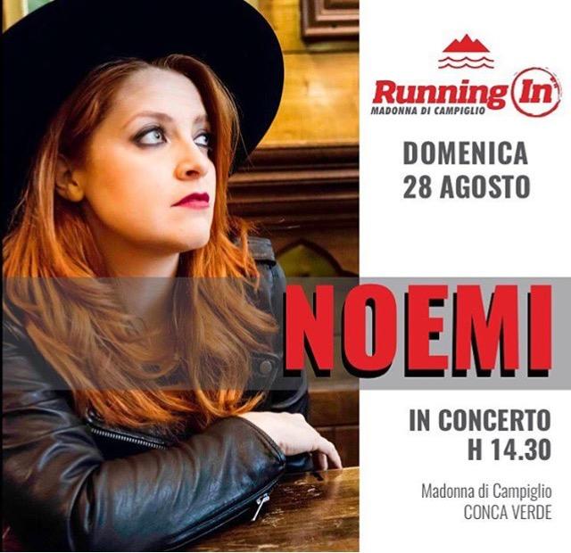 Noemi Running In Madonna di Campiglio