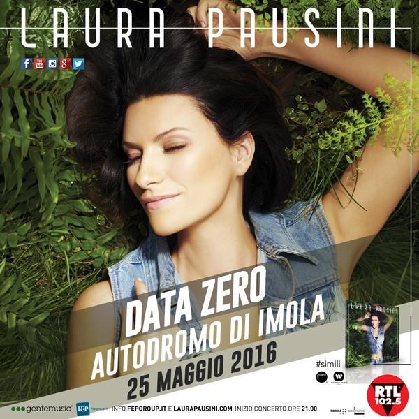 laura pausini free event show
