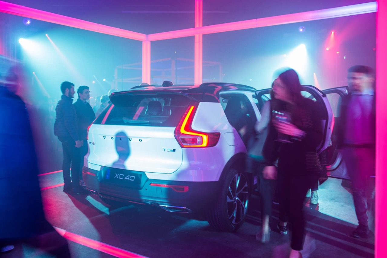 9 VOLVO XC40 FOTO FREE EVENT SHOW CONVENTION EVENT