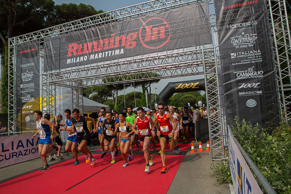 running in evento sportivo 2015